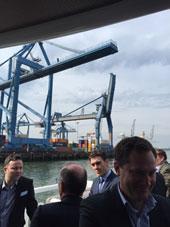 Visite du Port de Rotterdam