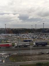 Visite des centres logistiques de Zeebruges